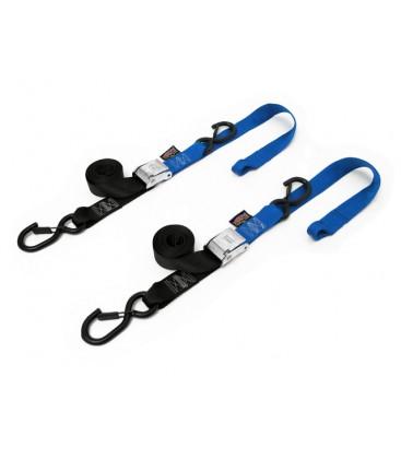 Powertye par cintas aperto 3,8x185cm preto/azul
