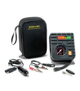 Mini compressor portátil 12v Stop&Go