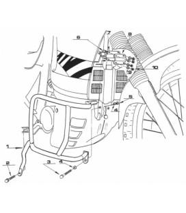 Ferros protecção Honda Transalp XL600 89/99