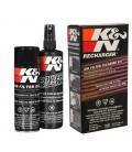 Kit limpeza e lubrificação filtro ar K&N