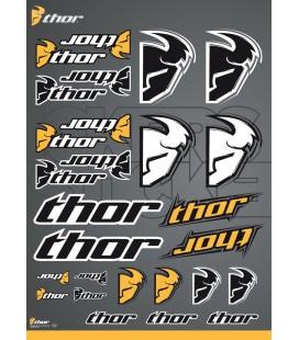Autocolantes sortidos Thor Logo