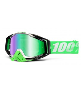 100% Racecraft Organic Mirror Green