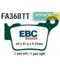 Pastilhas travão EBC FA368TT