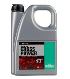 Motorex Cross Power 4T 10W/50 4Lt