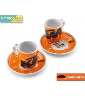 KTM kit chávenas café