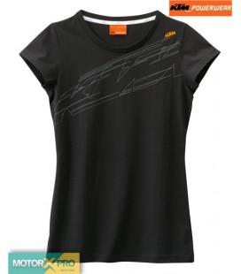 KTM Blusa Girl Logo TEE black