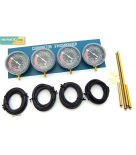 Kit afinadores vácuo p/ carburadores