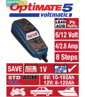 Carregador baterias OptiMate 5 VoltMatic