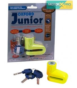 Cadeado disco Oxford Junior Amarelo