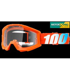 100% Strata Orange Clear