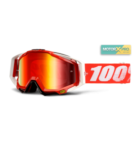 100% Racecraft Fire Red Mirror Red