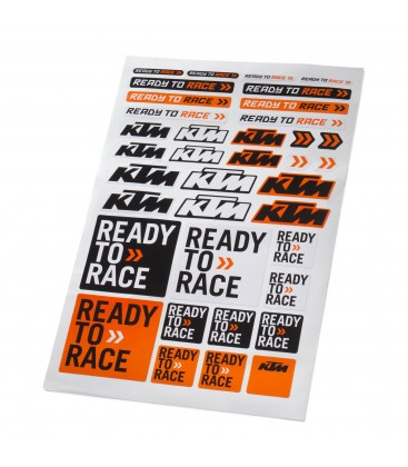 KTM Folha Autocolantes