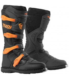 Botas Thor Blitz XP S9 Offroad Charcoal/Orange