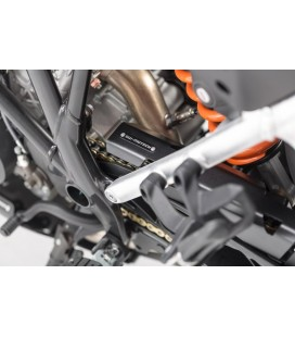 Extension for chain guard SW-MOTECH Black. KTM 1050/1090/1190 Adv,1290 Adv.
