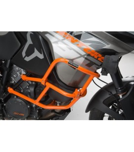 Upper crash bar for orig. KTM crash bar SW-MOTECH Orange. 1290 S Adv R / S , 1090 Adv .