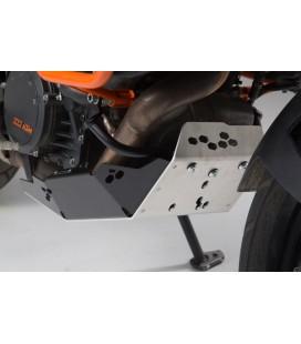 Engine guard SW-MOTECH Black/Silver. KTM 1050, 1090 Adv, 1190 Adv/R, 1290 Super Adventure S e R