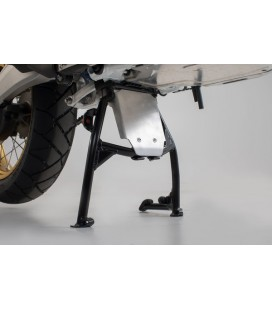 Engine guard extension for centerstand SW-MOTECH silver. Honda Africa Twin CRF1000L (2015+) e Adv Sports (2018+).