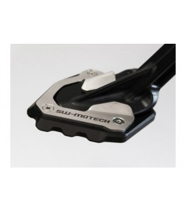 Extension for side stand foot SW-MOTECH  Black/Silver.  Honda Africa Twin CRF1000L (2015 +) e Adv Sports (2018 +)