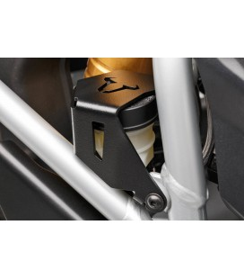 Brake reservoir guard SW-MOTECH black.  BMW R1200GS, R1250GS.