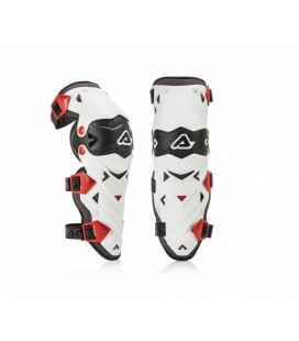 KNEE GUARDS IMPACT EVO 3.0  ACERBIS BLACK/WHITE ONE SIZE