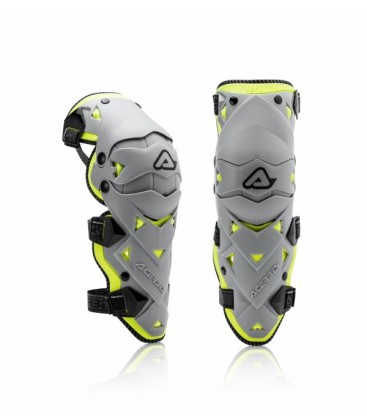 KNEE GUARDS IMPACT EVO 3.0  ACERBIS GREY ONE SIZE