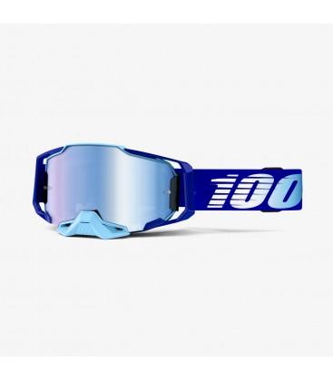 Óculos Armega Royal 100% lente espelhada azul