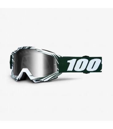 Óculos 100% ACCURI BALI Lente espelhada Prateada