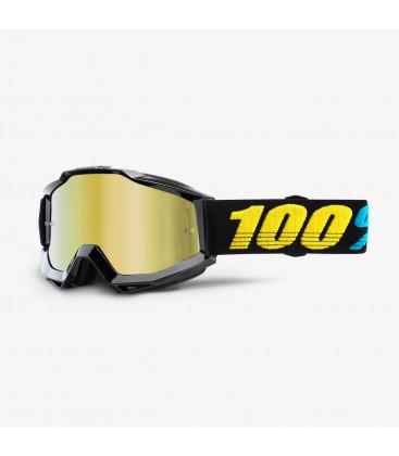 Óculos 100% ACCURI VIRGO Lente espelhada Dourada