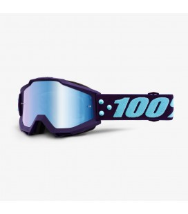 Óculos 100% ACCURI Maneuver Lente espelhada Azul