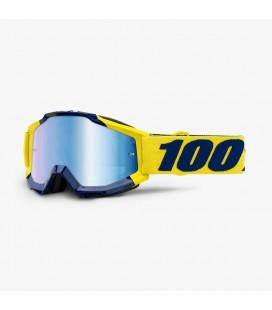 Óculos 100% ACCURI Supply Lente espelhada Azul