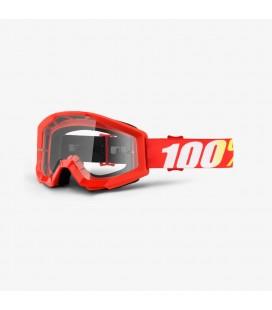 Óculos 100% Strata Furnace Clear