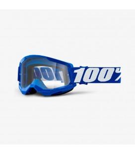 Óculos 100% Strata 2 Azul com lente transparente