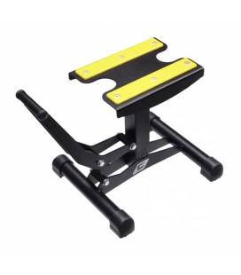 Cavalete Xtreme c/sistema de elevação Preto/Amarelo
